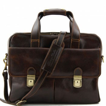 Сумка для ноутбука Tuscany Leather Reggio Emilia TL140889 dark brown
