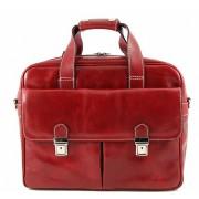 Сумка для ноутбука Tuscany Leather Reggio Emilia TL140889 red
