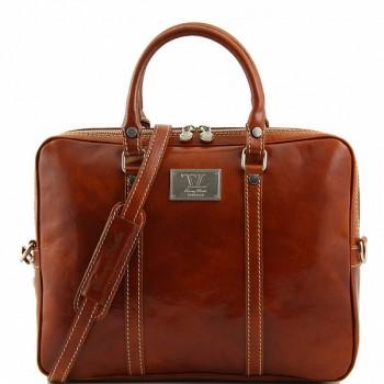 Сумка для ноутбука Tuscany Leather Prato TL141283 honey