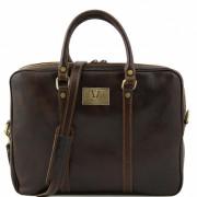 Сумка для ноутбука Tuscany Leather Prato TL141283 dark brown