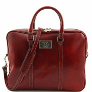 Сумка для ноутбука Tuscany Leather Prato TL141283 red