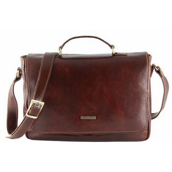 Сумка для ноутбука Tuscany Leather Padova TL140891 brown