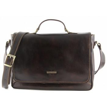 Сумка для ноутбука Tuscany Leather Padova TL140891 dark brown