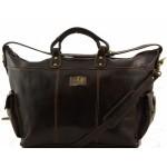 Дорожная сумка Tuscany Leather Porto TL140938 dark brown