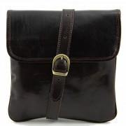 Мужская сумка Tuscany Leather Joe TL140987 dark brown