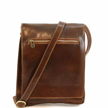 Мужская сумка Tuscany Leather Fabio TL141005 brown