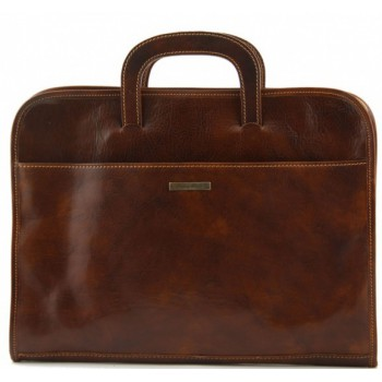 Портфель для документов Tuscany Leather Sorrento TL141022 brown