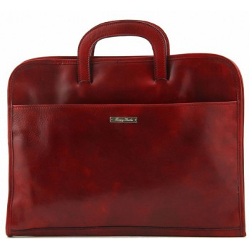 Портфель для документов Tuscany Leather Sorrento TL141022 red
