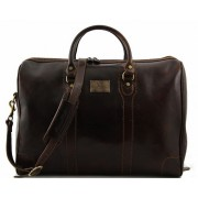 Дорожная сумка Tuscany Leather Luxembourg TL141024 dark brown