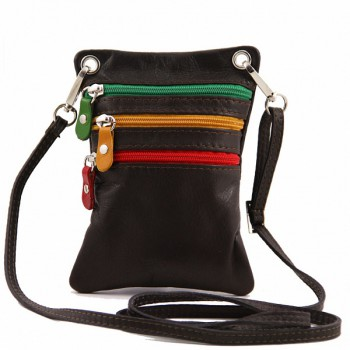 Мужская сумка Tuscany Leather Mini TL141094 dark brown