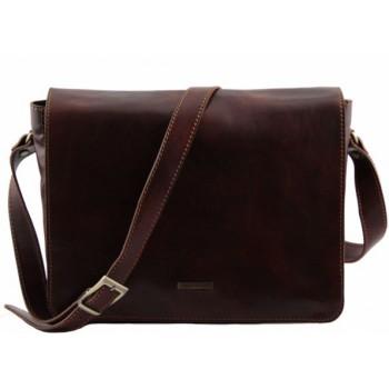 Сумка для ноутбука Tuscany Leather Lucca TL141184 brown