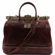 Дорожный саквояж Tuscany Leather Barcelona TL141185 brown