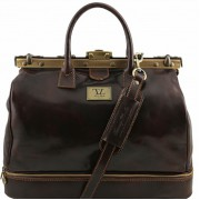 Дорожный саквояж Tuscany Leather Barcellona TL141185 dark brown