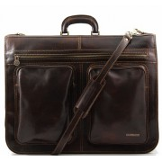 Портплед Tuscany Leather Tahiti TL3030 dark brown