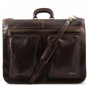 Портплед Tuscany Leather Tahiti TL3030 dark brown