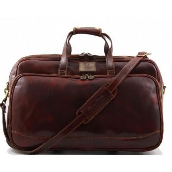 Дорожная сумка Tuscany Leather Bora Bora M TL3065 brown