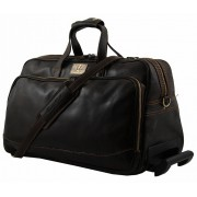 Дорожная сумка Tuscany Leather Bora Bora M TL3065 dark brown