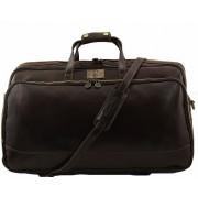 Дорожная сумка Tuscany Leather Bora Bora L TL3067 dark brown