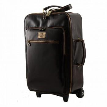 Чемодан Tuscany Leather Honolulu TL3069 dark brown