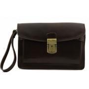 Сумка для документов мужская Tuscany Leather Max TL8075 dark brown