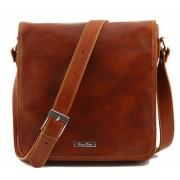 Сумка свободного стиля Tuscany Leather Messenger TL90164 honey