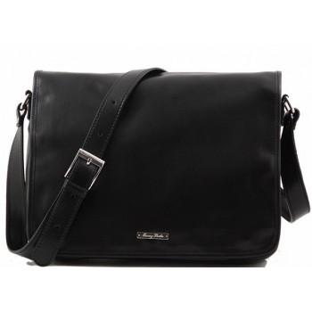 Сумка свободного стиля Tuscany Leather Messenger TL141198 black