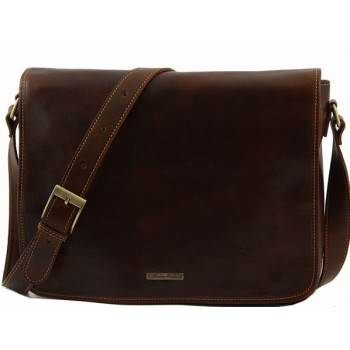 Сумка свободного стиля Tuscany Leather Messenger TL141198 brown