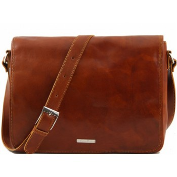 Сумка свободного стиля Tuscany Leather Messenger TL141198 honey