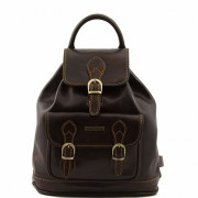 Рюкзак Tuscany Leather Singapore TL9039 dark brown