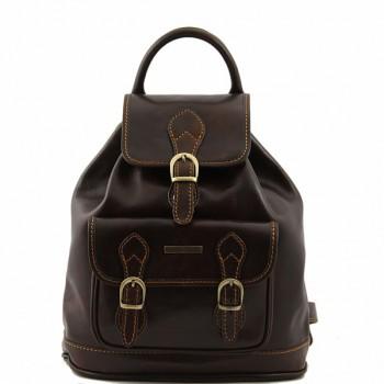 Рюкзак Tuscany Leather Singapore TL9039 dark brown