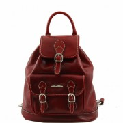 Рюкзак Tuscany Leather Singapore TL9039 red