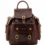 Рюкзак Tuscany Leather Pechino TL9052 brown