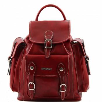 Рюкзак Tuscany Leather Pechino TL9052 red