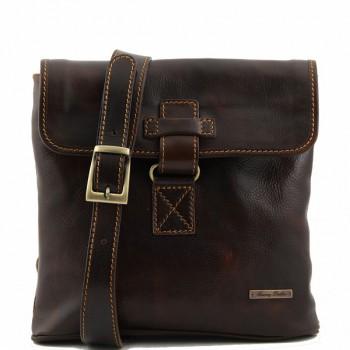 Сумка свободного стиля Tuscany Leather Andrea TL9087 dark brown