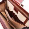 Саквояж-портфель Tuscany Leather Canova TL141826 dark brown