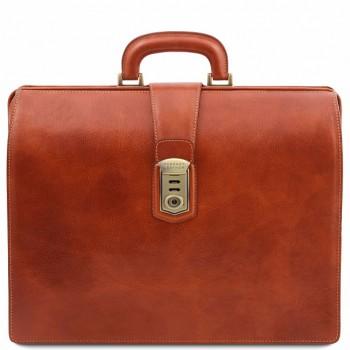 Саквояж-портфель Tuscany Leather Canova TL141826 honey
