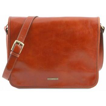 Сумка свободного стиля Tuscany Leather Messenger TL141254 honey