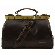 Саквояж Tuscany Leather Michelangelo TL10038 dark brown