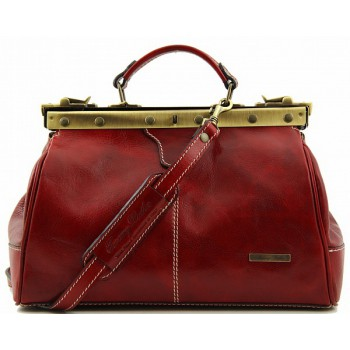 Саквояж Tuscany Leather Michelangelo TL10038 red