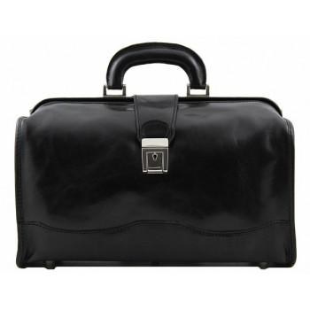 Саквояж Tuscany Leather Raffaello TL10077 black
