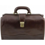 Саквояж Tuscany Leather Raffaello TL10077 dark brown