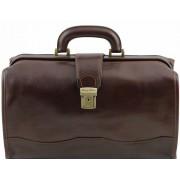 Саквояж Tuscany Leather Raffaello TL10077 dark brown