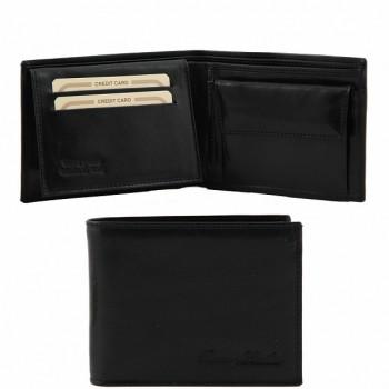 Эксклюзивный кожаный бумажник Tuscany Leather TL140763 black
