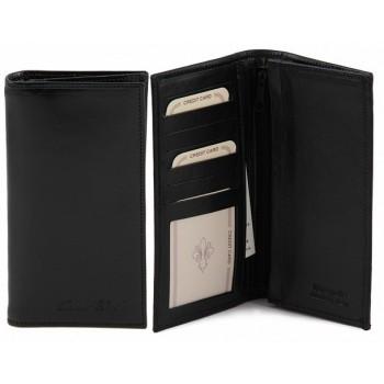 Эксклюзивный кожаный бумажник Tuscany Leather TL140777 black