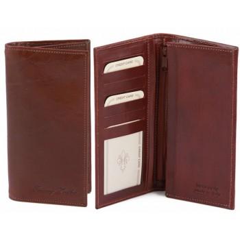 Эксклюзивный кожаный бумажник Tuscany Leather TL140777 brown