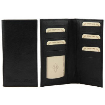 Эксклюзивный кожаный бумажник Tuscany Leather TL140784 black