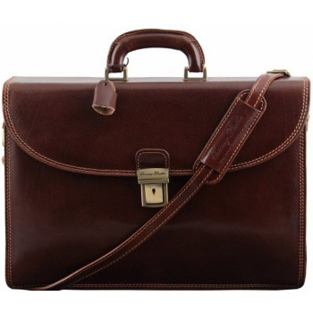 Портфель Tuscany Leather Pompei TL141204 brown
