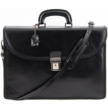 Портфель Tuscany Leather Pompei TL141204 black