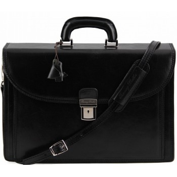 Портфель Tuscany Leather Taormina TL141205 black