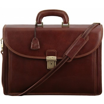 Портфель Tuscany Leather Taormina TL141205 brown